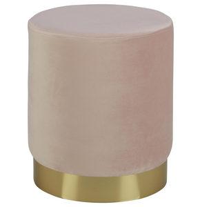 PALL - ljusrosa/guldfärgad, Trend, metall/träbaserade material (35/40cm) - Xora