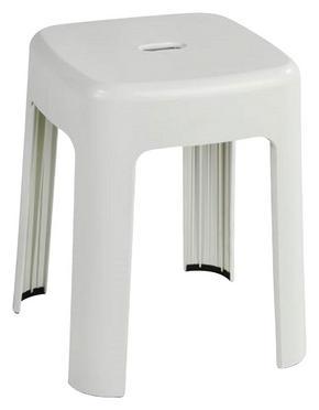 BADPALL - vit, Design, plast (37/45,5/37cm)