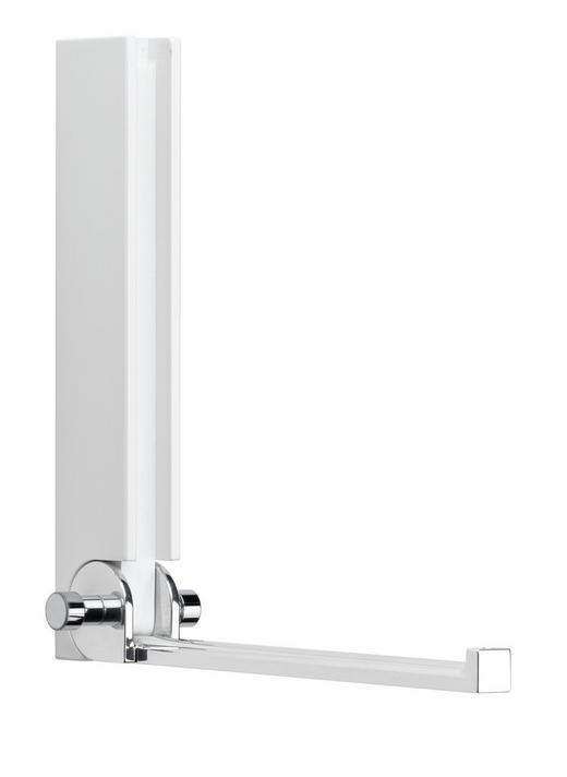 WANDHAKEN - Weiß, Design, Holz (15/18/5cm)