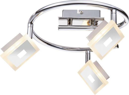 LED-STRAHLER - Chromfarben, Design, Kunststoff/Metall (49/17,5cm) - Novel