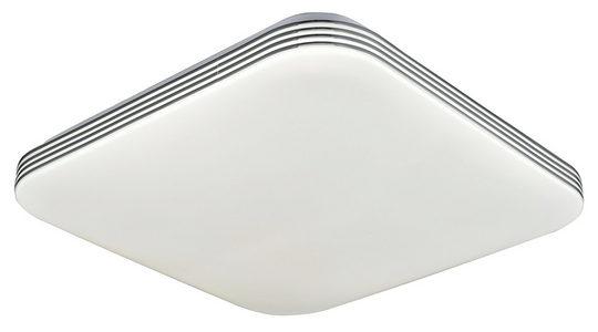 LED PLAFONJERA - Bela, Osnovno, Plastika (34/9cm) - Novel
