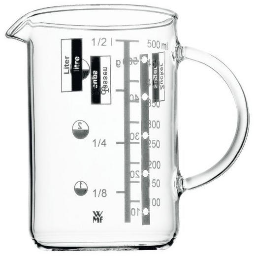 MESSBECHER - Klar, Design, Glas (0,5l) - WMF