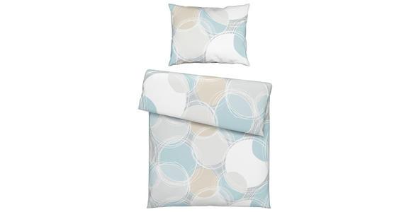Bettwäsche Donika - Blau, MODERN, Textil - Luca Bessoni