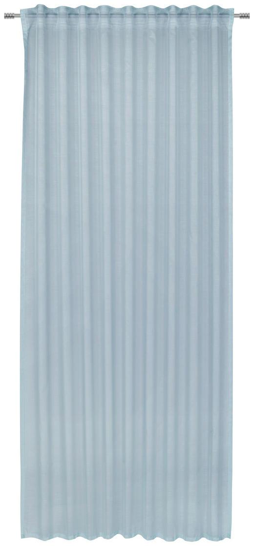 FERTIGVORHANG  halbtransparent  140/245 cm - Blau, KONVENTIONELL, Textil (140/245cm) - Esposa