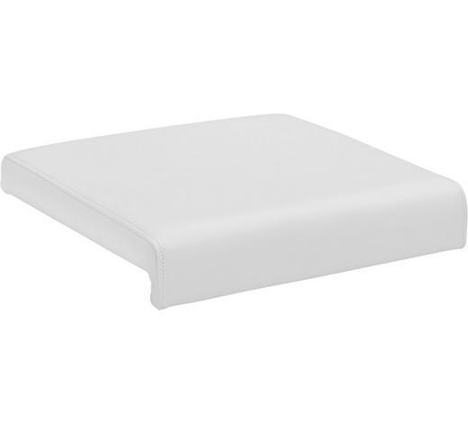 SITZKISSEN - Weiß, Basics, Textil (40/5/38cm) - Carryhome