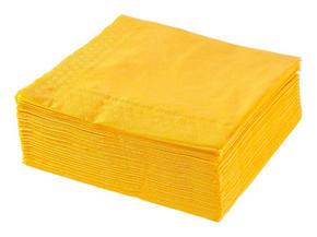 SERVETT - gul, Basics, papper (40/40cm) - Xxxlpack