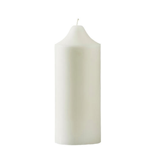 KERZE - Weiß, Basics (10/25cm) - Ambia Home