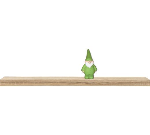 POLICE NÁSTĚNNÁ, Sonoma dub - Sonoma dub, Design, kompozitní dřevo (120/25cm)