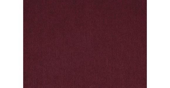 WOHNLANDSCHAFT in Textil Rot  - Rot/Silberfarben, Design, Holz/Textil (195/293cm) - Cantus