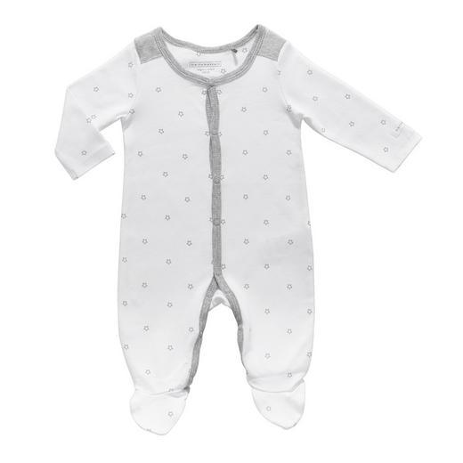 OVERALL - Weiß/Grau, Basics, Textil - BELLY BUTTON