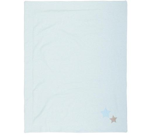 BABYDECKE 75/95 cm  - Blau, Basics, Textil (75/95cm) - Patinio