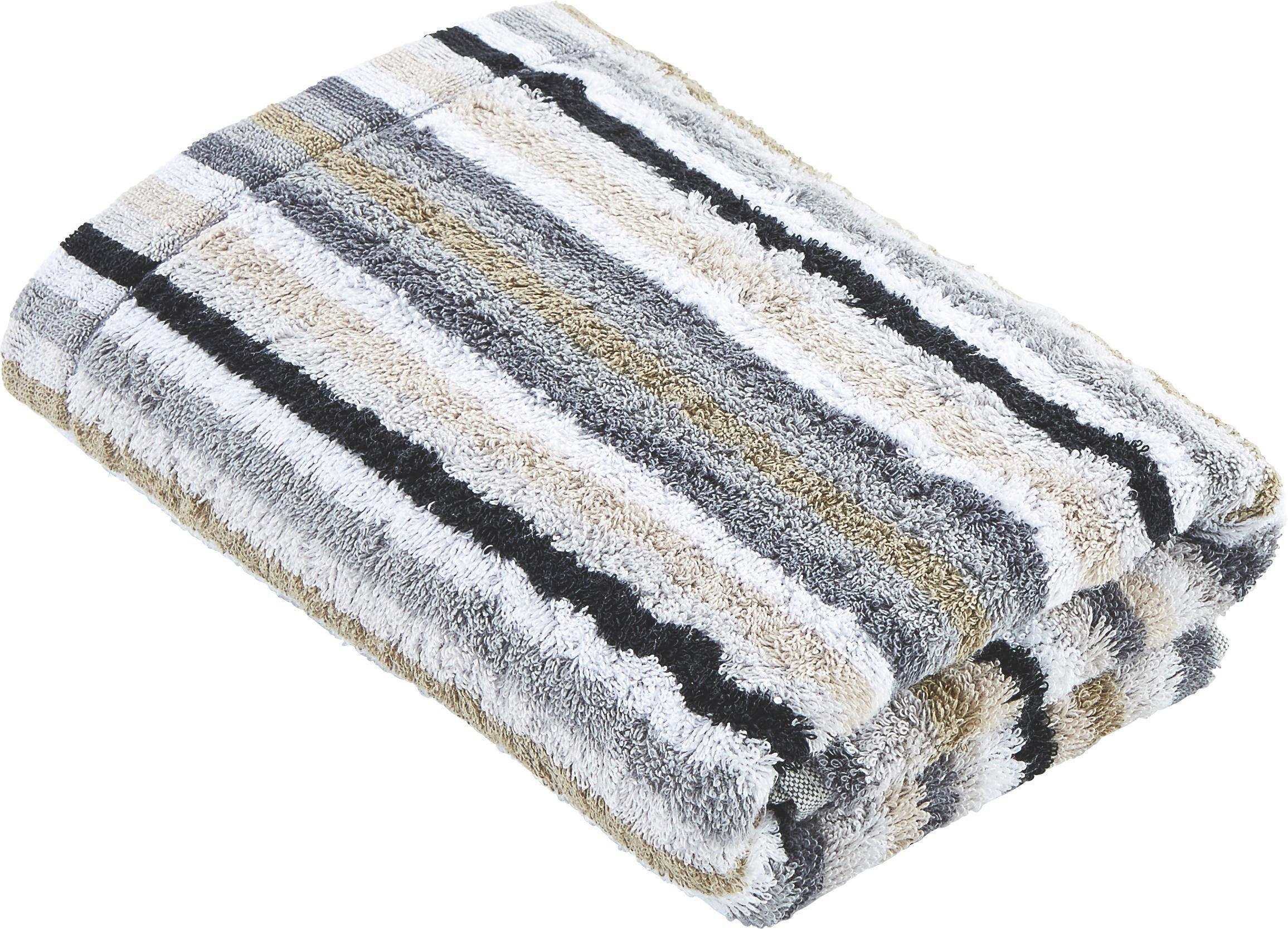 HANDTUCH 50/100 cm - Grau, Basics, Textil (50/100cm) - CAWOE