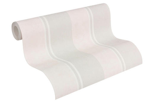 VLIESTAPETE 10,05 m - Beige/Grau, Design, Textil (53/1005cm)