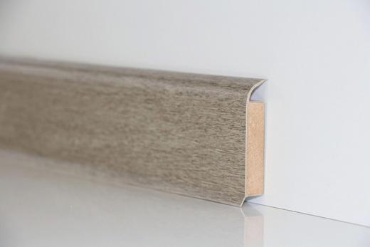 SOCKELLEISTE - Hellgrau, Basics (250/6/1,3cm) - Venda