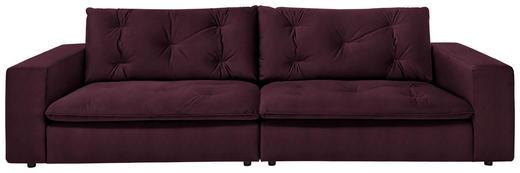 SOFA in Textil Brombeere, Lila - Brombeere/Lila, Design, Kunststoff/Textil (290 87 122cm) - Ambiente