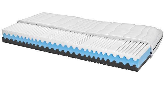 Komfortschaummatratze Silvy 140x200cm H2/H3 - Weiß, Textil (140/200cm) - Primatex
