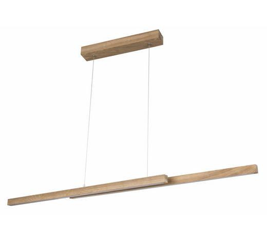 LED-HÄNGELEUCHTE - Braun, Natur, Holz (150/110/10cm)