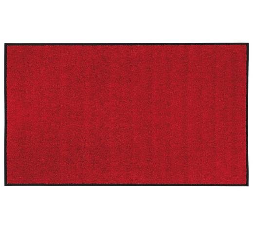 FUßMATTE 90/150 cm  - Rot, KONVENTIONELL, Textil (90/150cm) - Esposa