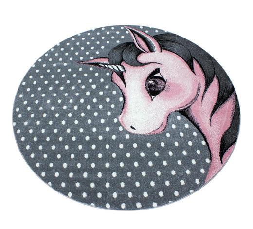 KINDERTEPPICH - Pink/Weiß, Trend, Textil (120cm) - Ben'n'jen