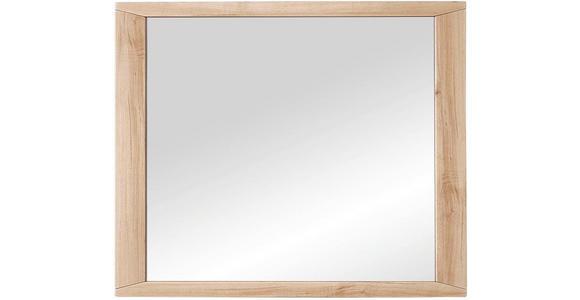 SPIEGEL 90/80/4 cm - Buchefarben, KONVENTIONELL, Glas/Holzwerkstoff (90/80/4cm) - Voleo