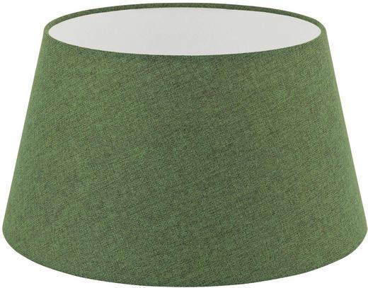 LEUCHTENSCHIRM  Grün  Textil  E27 - Grün, Design, Textil (40/22cm) - Marama