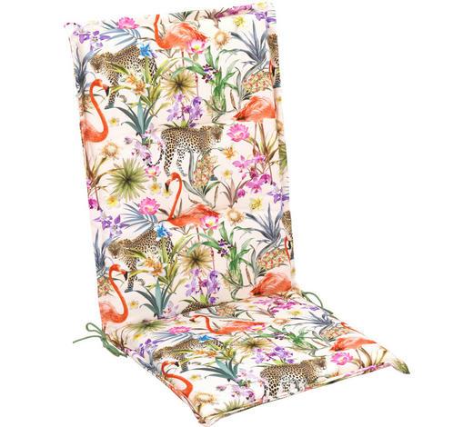 SESSELAUFLAGE in Multicolor Tier - Multicolor, Design, Textil (48/118/4cm)