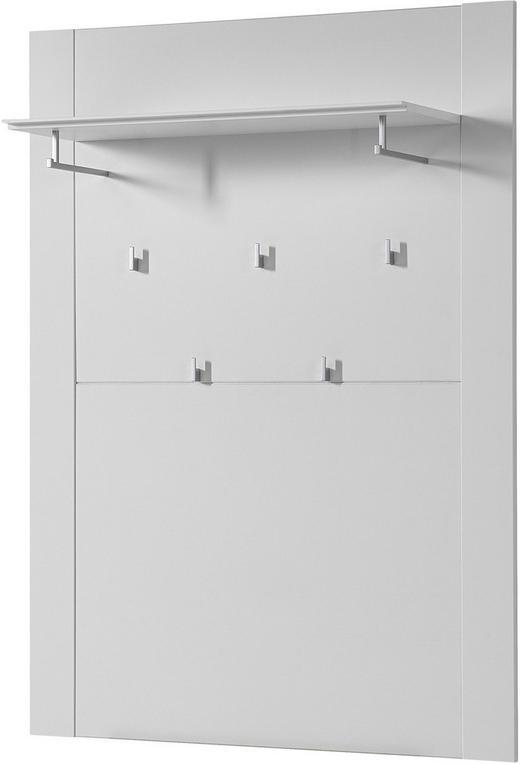 GARDEROBENPANEEL foliert, matt Weiß - Weiß, Design (100/137/30cm) - Xora