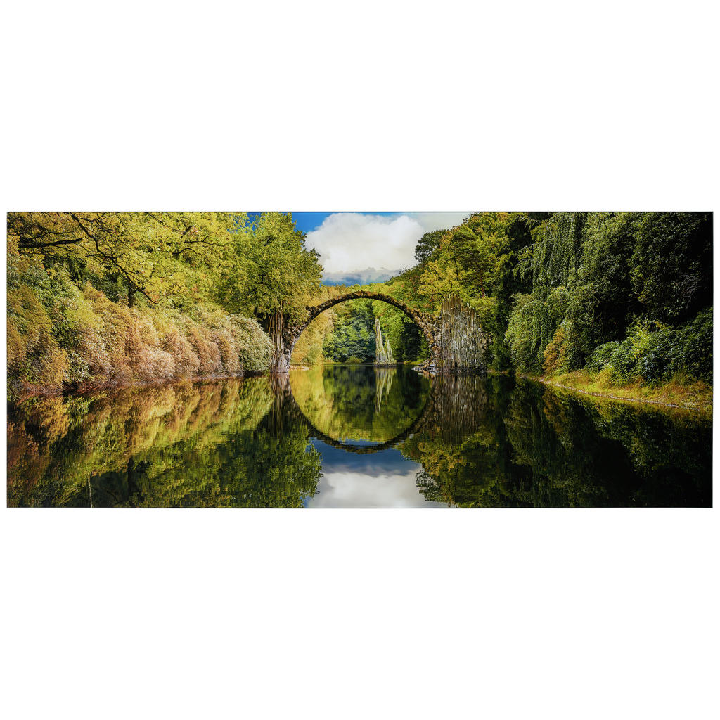 Monee Glasbild landschaft & natur