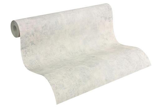 Vliestapete im Vintagelook 10,05 m - Hellgrau/Grau, Basics, Textil (53/1005cm)