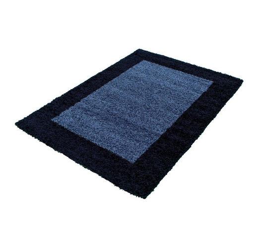 HOCHFLORTEPPICH - Dunkelblau, KONVENTIONELL, Textil (100/200cm) - Novel