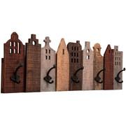 GARDEROBENLEISTE Fichte Beige, Braun, Schwarz - Beige/Schwarz, Design, Holz/Metall (82/26/8cm) - Kare-Design