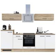 KUHINJSKI BLOK - bijela/hrast Sonoma, Design, drvni materijal (270/195/60cm) - Xora