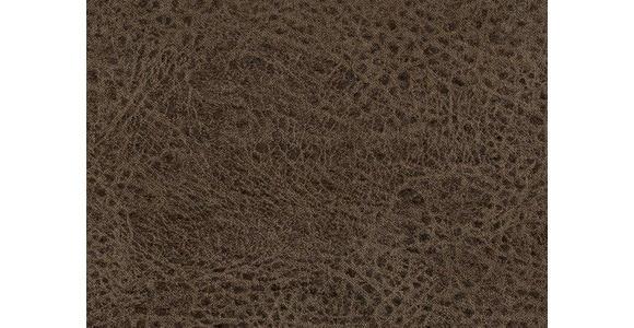 WOHNLANDSCHAFT in Textil Grau - Eichefarben/Beige, Natur, Textil (243/342/185cm) - Voleo