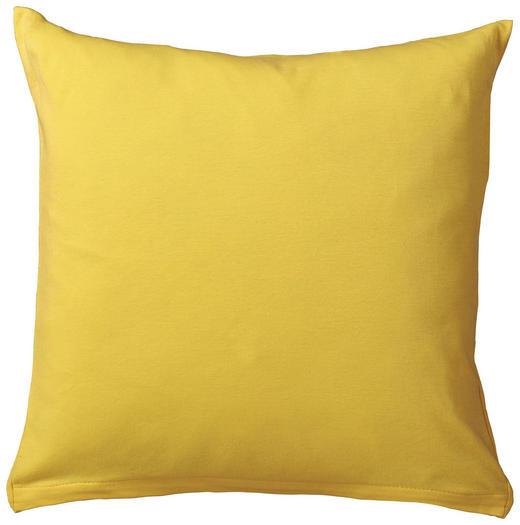 KISSENHÜLLE Gelb 40/40 cm - Gelb, Basics, Textil (40/40cm) - Schlafgut