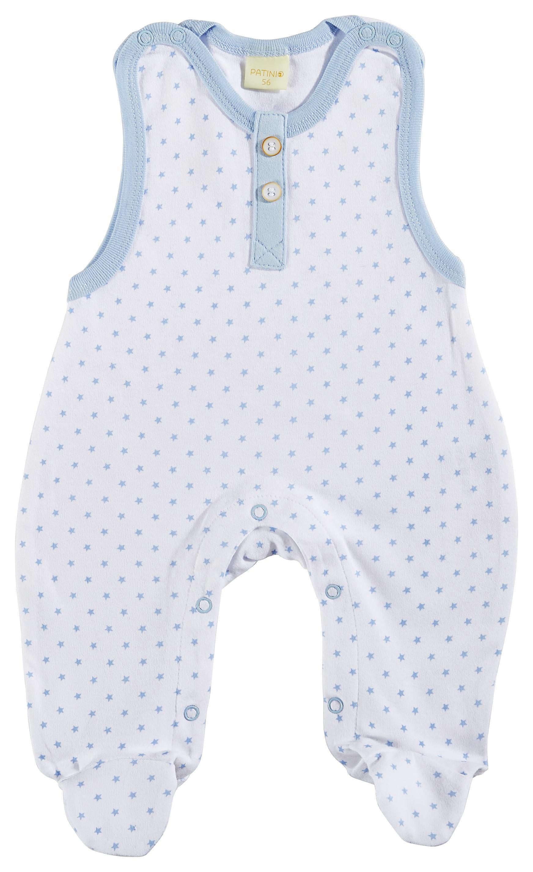 STRAMPLER - Weiß/Hellblau, Basics, Textil (56) - PATINIO