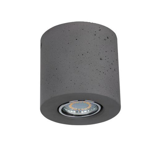 DECKENLEUCHTE - Grau, Trend, Keramik (8,8/10cm)