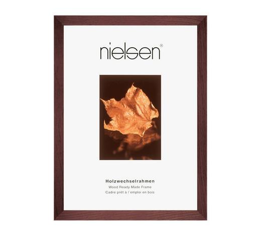 BILDERRAHMEN  Dunkelbraun - Dunkelbraun, Basics, Holz (21/29.7cm) - Nielsen