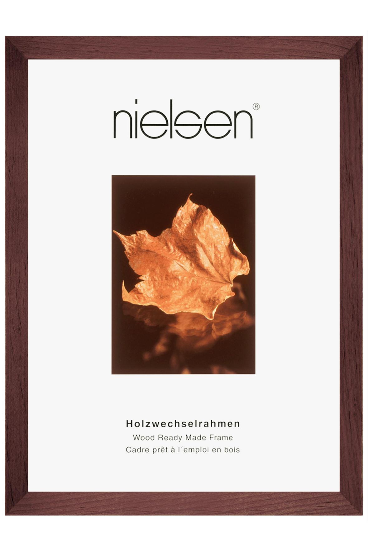 BILDERRAHMEN  Dunkelbraun - Dunkelbraun, Holz (30/40cm)