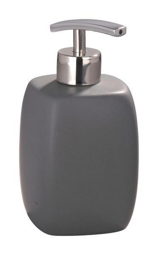 SEIFENSPENDER - Grau, Basics, Keramik (8/15,5/8cm)