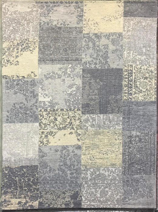 VINTAGE-TEPPICH  80/150 cm  Gelb, Grau - Gelb/Grau, Textil (80/150cm) - Novel