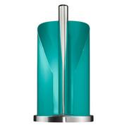 KÜCHENROLLENHALTER - Türkis/Edelstahlfarben, Basics, Metall (15,6/35,2cm) - Wesco
