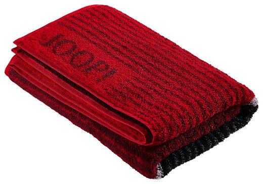 HANDTUCH 50/100 cm - Rot/Schwarz, Basics, Textil (50/100cm) - Joop!