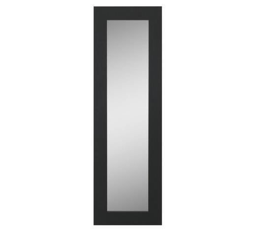 OGLEDALO - crna, Design, drvo (25/80/1,6cm) - Boxxx