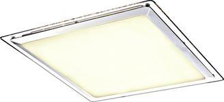 LED-DECKENLEUCHTE    44,5/44,5/7,5 cm  - Opal/Weiß, Basics, Kunststoff/Metall (44,5/44,5/7,5cm) - Novel