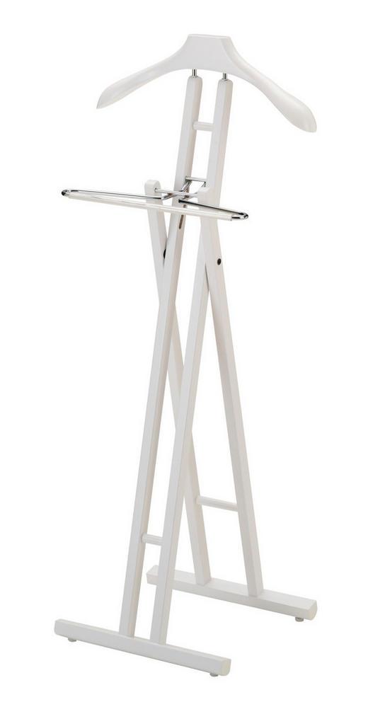 HERRENDIENER Weiß - Weiß, Design, Holz (45/104/34cm) - Carryhome