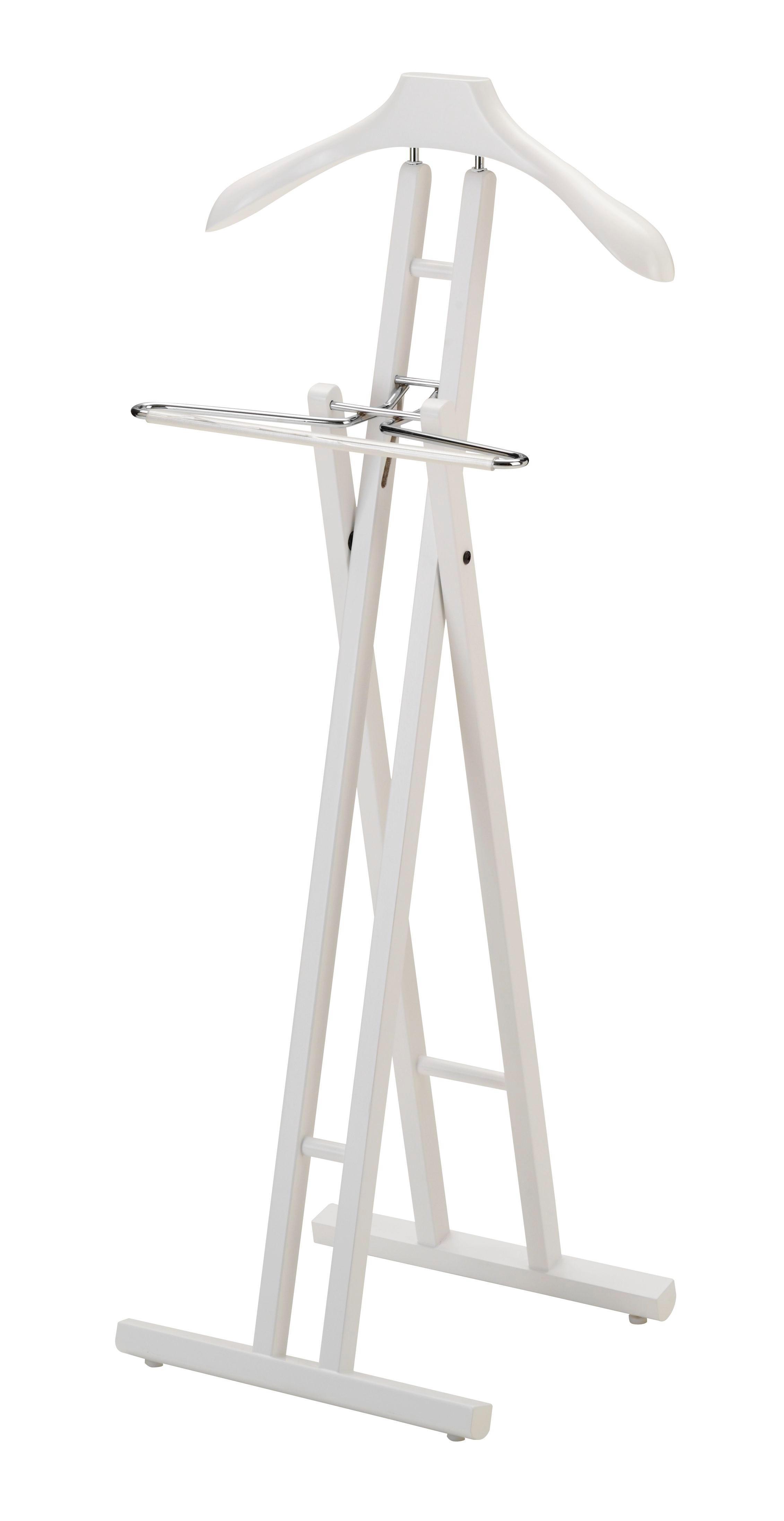 HERRENDIENER Weiß - Weiß, MODERN, Holz (45/104/34cm)