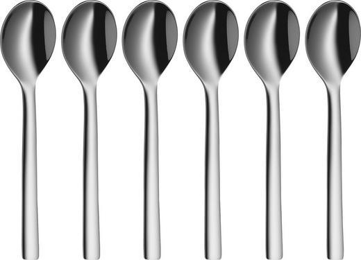 LÖFFELSET - Edelstahlfarben, Basics, Metall (11cm) - WMF
