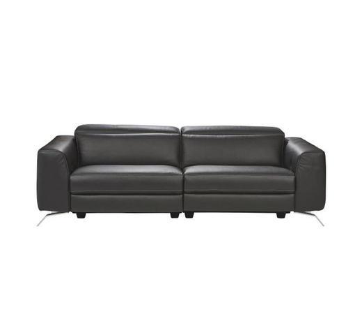 Dreisitzer Sofa In Leder Schwarz Online Kaufen Xxxlutz