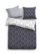 MLADINSKA POSTELJNINA URBAN - siva/črna, Design, tekstil (135/200cm) - Tom Tailor