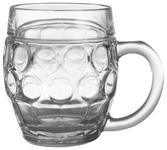 BIERKRUG 500 ml  - Transparent, Basics, Glas (14,5/10/12cm) - Homeware